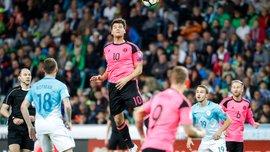 Словения – Шотландия – 2:2 – Видео голов и обзор матча