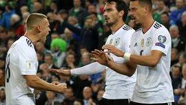 Німеччина стала найрезультативнішою командою в історії європейських кваліфікацій і повторила 2 рекорди