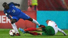 Канте не зіграє проти Білорусі через травму