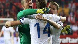 Исландия победила Косово и вышла на ЧМ-2018, Турция и Финляндия сыграли вничью