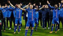 Исландия отметила выход на ЧМ-2018 фирменным празднованием с болельщиками