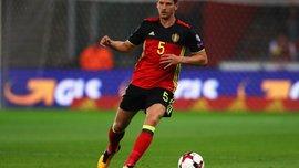 Вертонген стал рекордсменом сборной Бельгии по количеству проведенных матчей