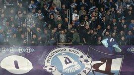 Фанати Дніпра напали на вболівальників СК Дніпро-1 та президента клубу Юрія Березу – з'явилось відео