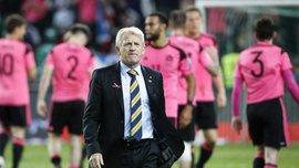 Стракан — більше не тренер збірної Шотландії