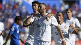 Хетафе – Реал – 1:2 – Видео голов и обзор матча