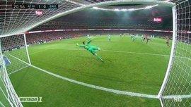 Атлетико – Барселона: гол Сауля Ньигеса