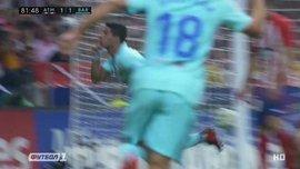 Атлетико – Барселона: гол Суареса
