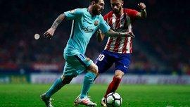 Атлетико – Барселона – 1:1 – Видео голов и обзор матча