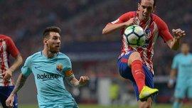 Годин обыграл Месси финтом Зидана в матче Атлетико – Барселона