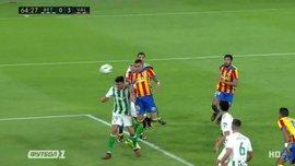 Бетіс – Валенсія: гол Родріго