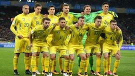 Сборная Украины опустилась на 6 позиций в обновленном рейтинге ФИФА
