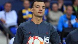 Український арбітр Бойко обслужить матч Ліги Європи Астана – Маккабі Тель-Авів