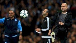 Гвардиола: Впервые сыграл против такой команды, как нынешний Наполи