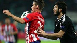 Карабах сыграл вничью с Атлетико и набрал первое очко в Лиге чемпионов