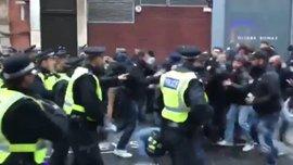 Вболівальники Роми побилися з поліцією перед матчем проти Челсі