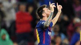 Мессі забив 100-й гол у єврокубках