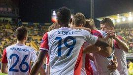 Ліга Європи: Славія Прага з Соболем зіграла внічию з Вільяреалом, Скендербеу та Партизан голів не забили