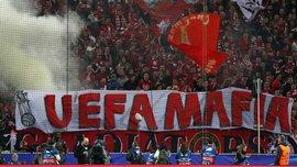УЕФА оштрафовал Спартак за поведение фанатов на матче с Ливерпулем