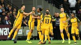 Вест Хем – Брайтон – 0:3 – Відео голів та огляд матчу