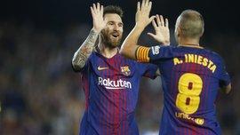 """Барселона победила Малагу на """"Камп Ноу"""""""