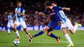 Барселона – Малага – 2:0 – Видео голов и обзор матча