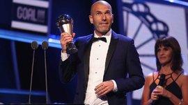 Зідан став найкращим тренером 2017 року за версією ФІФА