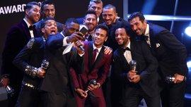 FIFA The Best 2017: Найяскравіші миттєвості церемонії нагородження