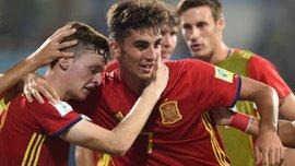 Іспанія обіграла Малі у півфіналі ЧС-2017 U-17 – арбітр не помітив, як м'яч перетнув лінію воріт після удару африканця