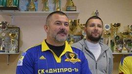 Береза: Половина гравців СК Дніпро-1 має потенціал аби грати у збірній України
