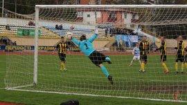 Вратарь Буковины привез нелепый гол, пропустил курьезный и красивый мячи в матче с Подольем
