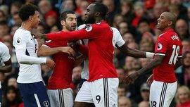 Янг потролив Аллі в матчі Манчестер Юнайтед – Тоттенхем