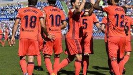 Хетафе на своєму стадіоні феєрично переміг Реал Сосьєдад