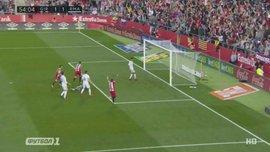 Жирона – Реал: гол Стуани