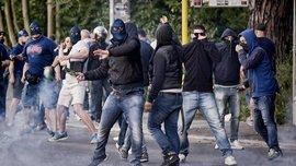 Ультрас Роми побилися з фанатами Челсі у Римі