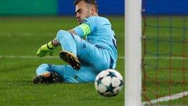 Акінфєєв пропустив гол у 43-му матчі Ліги чемпіонів поспіль і продовжив антирекорд