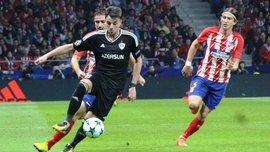 Атлетико сенсационно не смог обыграть Карабах