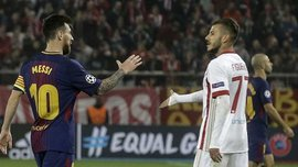 Олимпиакос – Барселона – 0:0 – Видеообзор матча