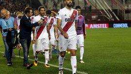 Ривер Плейт вылетел из полуфинала Кубка Либертадорес, имея преимущество над соперником в 3 гола