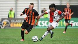 Юношеская лига УЕФА: Шахтер сыграл вничью с Фейенордом