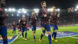 Барселона озвучила сроки отсутствия Серхи Роберто и Андре Гомеша