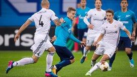 Лига Европы: Атлетик выиграл, но не догнал Зарю, Зенит спасся в матче с Русенборгом