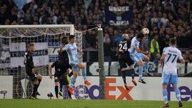 Лацио – Ницца: впервые в истории Лиги Европы команды не нанесли ни одного удара в створ ворот, но хозяева победили