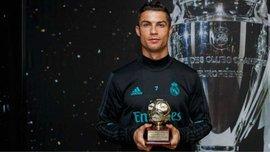 Роналду отримав нагороду найкращого бомбардира 2016 року за версією IFFHS