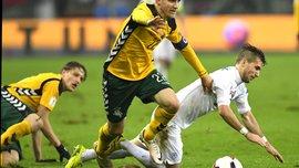 Два ведущие клубы Украины интересуются капитаном сборной Литвы Черных