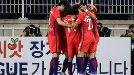 Товарищеские матчи: Южная Корея победила Колумбию, Сербия выиграла у Китая
