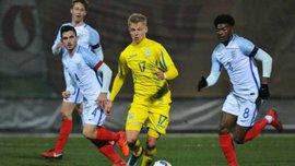 Украина U-21 – Англия U-21 – 0:2 – Видео голов и обзор матча