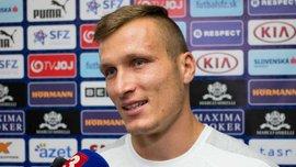 Штетина: Рад забить первый гол за сборную Словакии