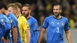 К'єлліні повторив симуляцію а-ля Бускетс-Луїс у матчі Швеція – Італія