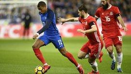 Мбаппе круто повторил финт Зидана в матче Франция – Уэльс