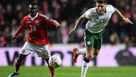 Дания на домашнем стадионе не смогла переиграть Ирландию
